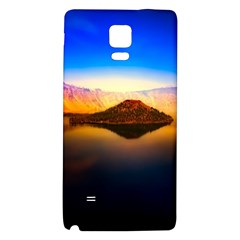 Crater Lake Oregon Mountains Galaxy Note 4 Back Case by BangZart