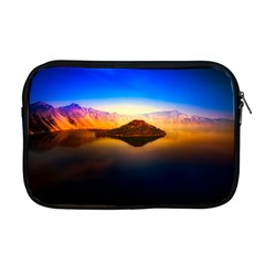 Crater Lake Oregon Mountains Apple Macbook Pro 17  Zipper Case by BangZart