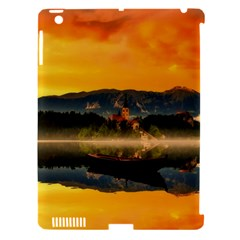 Bled Slovenia Sunrise Fog Mist Apple Ipad 3/4 Hardshell Case (compatible With Smart Cover)
