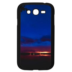 Canada Lake Night Evening Stars Samsung Galaxy Grand Duos I9082 Case (black) by BangZart