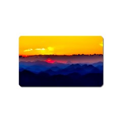 Austria Landscape Sky Clouds Magnet (name Card) by BangZart