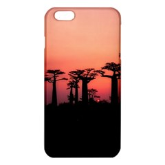 Baobabs Trees Silhouette Landscape Iphone 6 Plus/6s Plus Tpu Case by BangZart