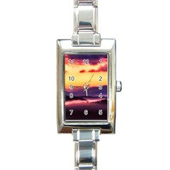 Great Smoky Mountains National Park Rectangle Italian Charm Watch