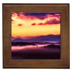 Great Smoky Mountains National Park Framed Tiles