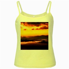 Great Smoky Mountains National Park Yellow Spaghetti Tank