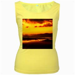 Great Smoky Mountains National Park Women s Yellow Tank Top