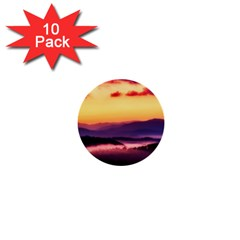 Great Smoky Mountains National Park 1  Mini Buttons (10 pack)