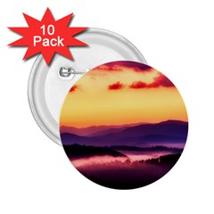 Great Smoky Mountains National Park 2.25  Buttons (10 pack)