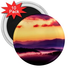 Great Smoky Mountains National Park 3  Magnets (10 pack)