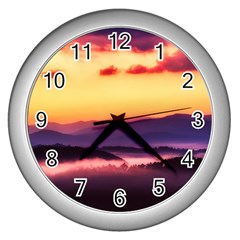 Great Smoky Mountains National Park Wall Clocks (Silver)