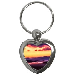 Great Smoky Mountains National Park Key Chains (Heart)