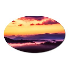 Great Smoky Mountains National Park Oval Magnet