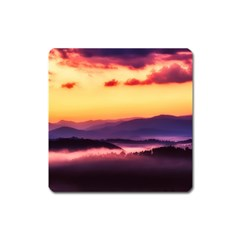 Great Smoky Mountains National Park Square Magnet