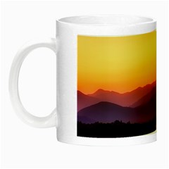 Great Smoky Mountains National Park Night Luminous Mugs