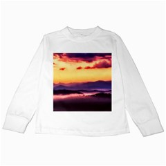 Great Smoky Mountains National Park Kids Long Sleeve T-Shirts