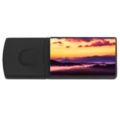 Great Smoky Mountains National Park Rectangular USB Flash Drive