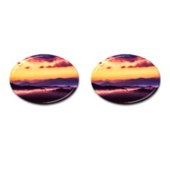 Great Smoky Mountains National Park Cufflinks (Oval)