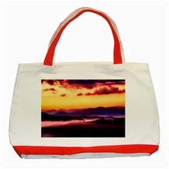 Great Smoky Mountains National Park Classic Tote Bag (Red)
