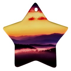 Great Smoky Mountains National Park Star Ornament (Two Sides)