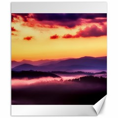 Great Smoky Mountains National Park Canvas 8  x 10