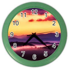 Great Smoky Mountains National Park Color Wall Clocks