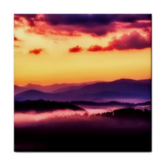 Great Smoky Mountains National Park Face Towel