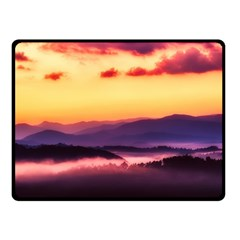 Great Smoky Mountains National Park Fleece Blanket (Small)