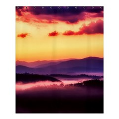 Great Smoky Mountains National Park Shower Curtain 60  x 72  (Medium)