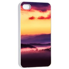 Great Smoky Mountains National Park Apple iPhone 4/4s Seamless Case (White)