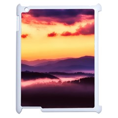 Great Smoky Mountains National Park Apple iPad 2 Case (White)