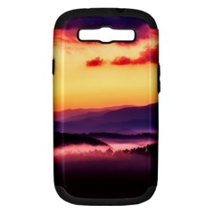 Great Smoky Mountains National Park Samsung Galaxy S III Hardshell Case (PC+Silicone)
