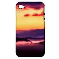 Great Smoky Mountains National Park Apple iPhone 4/4S Hardshell Case (PC+Silicone)