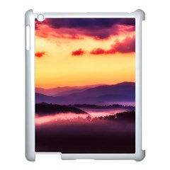 Great Smoky Mountains National Park Apple iPad 3/4 Case (White)