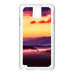 Great Smoky Mountains National Park Samsung Galaxy Note 3 N9005 Case (White)