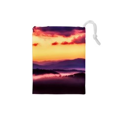 Great Smoky Mountains National Park Drawstring Pouches (Small)