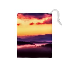 Great Smoky Mountains National Park Drawstring Pouches (Medium)