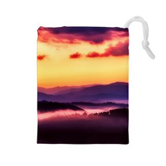 Great Smoky Mountains National Park Drawstring Pouches (Large)