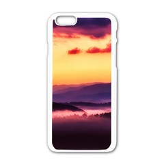 Great Smoky Mountains National Park Apple iPhone 6/6S White Enamel Case