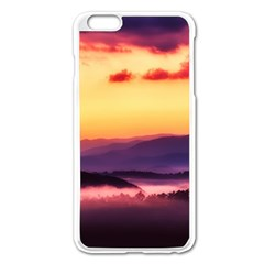 Great Smoky Mountains National Park Apple iPhone 6 Plus/6S Plus Enamel White Case