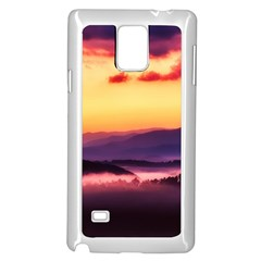 Great Smoky Mountains National Park Samsung Galaxy Note 4 Case (White)