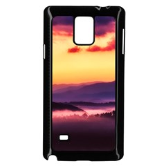 Great Smoky Mountains National Park Samsung Galaxy Note 4 Case (Black)