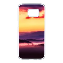 Great Smoky Mountains National Park Samsung Galaxy S7 edge White Seamless Case
