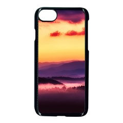 Great Smoky Mountains National Park Apple iPhone 8 Seamless Case (Black)