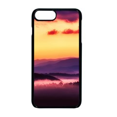 Great Smoky Mountains National Park Apple iPhone 8 Plus Seamless Case (Black)