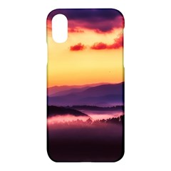 Great Smoky Mountains National Park Apple iPhone X Hardshell Case