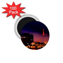 San Francisco Night Evening Lights 1 75  Magnets (100 Pack)