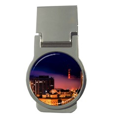 San Francisco Night Evening Lights Money Clips (round)