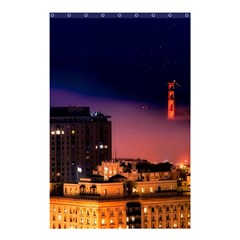 San Francisco Night Evening Lights Shower Curtain 48  X 72  (small)  by BangZart