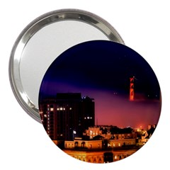 San Francisco Night Evening Lights 3  Handbag Mirrors