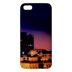 San Francisco Night Evening Lights Apple Iphone 5 Premium Hardshell Case by BangZart